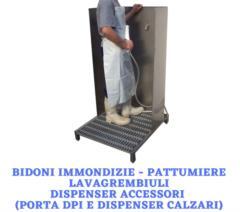 Bidoni - Lavagrembiuli - Dispenser di accessori