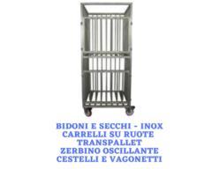 Bidoni e secchi - Carrelli - Transpallet - Cestelli e vagonetti