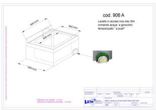 lavello-acciaio-inox-comando-temporizzato-parete-906A