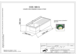 lavello-acciaio-inox-pensile-comando-ginocchio-una-vasca-sgocciolatoio-906G