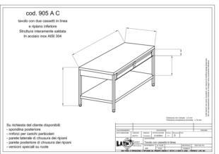 tavolo-acciaio-due-cassetti-con-ripiano-905AC