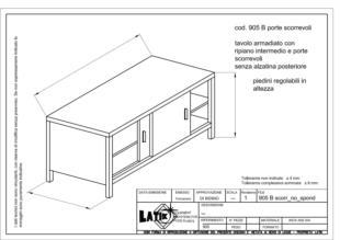 tavolo-acciaio-inox-armadiato-con-ripiano-intermedio-porte-scorrevoli-senza-alzatina-905B