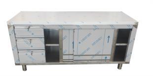 tavolo-con-cassetti-ante-scorrevoli-con-ripiano-interno-acciaio-inox