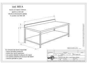 tavolo-ripiano-inferiore-con-spondina-905A