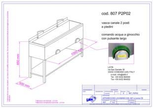 vasca-canale-con-piedini-comando-ginocchio-807P2P02