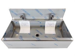 vasca-canale-lavamani-rubinetto-fotocellula-due-posti