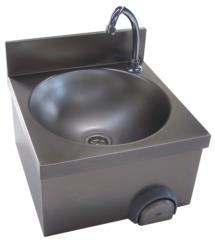 801 P01 Lavamani in acciaio inox