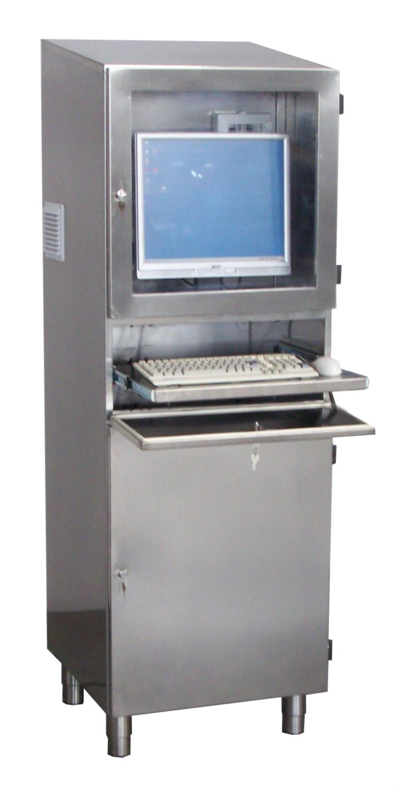 Armadio Pc Acciaio Inox.Armadio Informatico 931 A Latik S R L