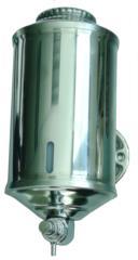 dosasapone dispenser portasapone in acciaio inox