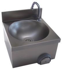 Lavamani in acciaio inox su misura