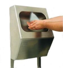 nebulizzatore mani per igienizzazione in acciaio inox fotocellula
