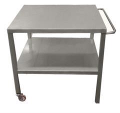 tavolo per supporto pesi per affettatrice su misura
