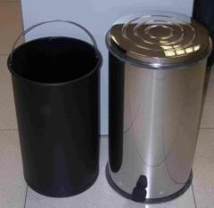Bidone-immondizia- in acciaio inox litri 30