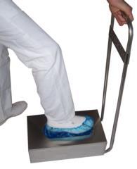 dispenser copri calzari copricalzari in acciaio inox distributore copri scarpe