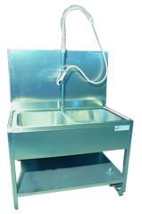 lavello con due vasche acciaio inox soluzioni personalizzabili a disegno