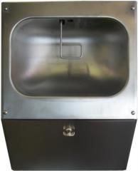 nebulizzatore mani disinfettante sanificazione acciaio inox
