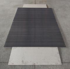 tappeto tecnico d'ingresso per persone e transito su ruote