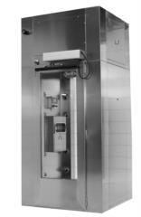 doccia d'aria decontaminante depolverizzazione del personale