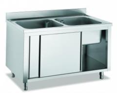 lavelli in acciaio inox AISI 304 disponibili in varie conformazioni