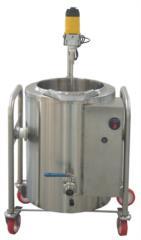 minicaseificio in acciaio inox per piccole produzioni